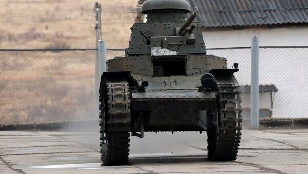 İlk Sovyet tankı MS-1 restore edildi - Sputnik Türkiye