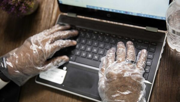Bilgisayar koronavirüs - Sputnik Türkiye