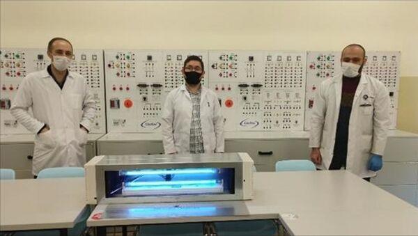 MEB, Ultraviyole-C hava sterilizasyon cihazı üretti - Sputnik Türkiye