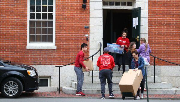 Harvard Üniversitesi-öğrenciler salgın nedeniyle yurtları boşaltıyor. - Sputnik Türkiye