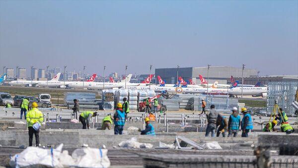 Atatürk Havalimanı-salgın hastanesi-koronavirüs - Sputnik Türkiye