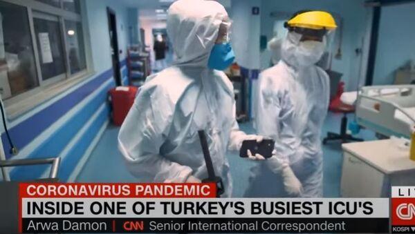 ABD medyası Cerrahpaşa'da - Sputnik Türkiye