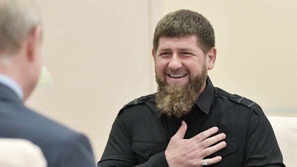 Çeçenistan lideri Ramzan Kadirov - Rusya Devlet Başkanı Vladimir Putin - Sputnik Türkiye