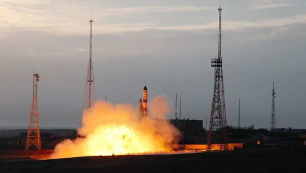 'Zafer Roketi' olarak adlandırılan Soyuz-2.1a roketi, Kazakistan'daki Baykonur Uzay Üssü'nden fırlatıld - Sputnik Türkiye
