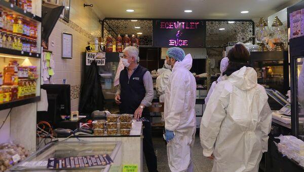 İstanbul, gıda işletmeleri, koronavirüs tedbirleri  - Sputnik Türkiye