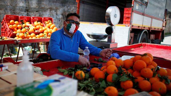 İtalya'da koronavirüs - Sputnik Türkiye