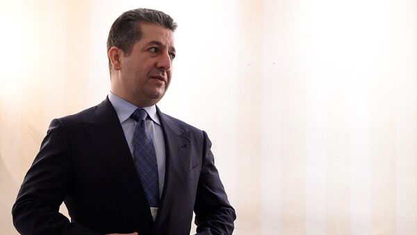 Irak Kürt Bölgesel Yönetimi (IKBY) Başbakanı Mesrur Barzani - Sputnik Türkiye