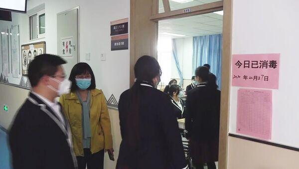 Pekin'de 50 bin lise öğrencisi ders başı yaptı - Sputnik Türkiye