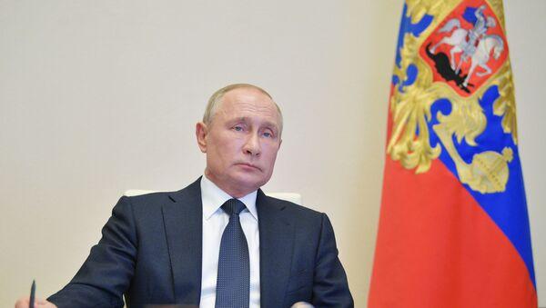 Russia Putin Coronavirus Fight - Sputnik Türkiye