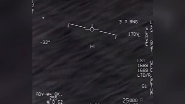 abd savunma bakanligi ilk kez ufo goruntulerini yayimladi - Sputnik Türkiye