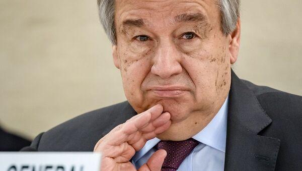 Birleşmiş Milletler Genel Sekreteri Antonio Guterres - Sputnik Türkiye