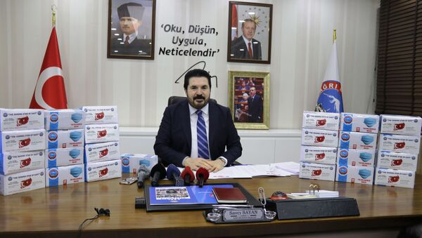 Savcı Sayan - Sputnik Türkiye