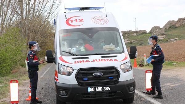 Toplu namaz sonrası 45 kişinin koronavirüs testi pozitif çıktı - Ürgüp - Sputnik Türkiye