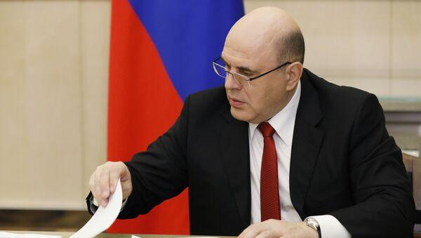 Rusya Başbakanı Mihail Mişustin - Sputnik Türkiye