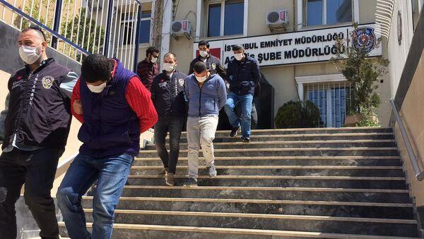 Koronavirüs için kurulacak hastanenin kablolalarını çaldılar - Sputnik Türkiye