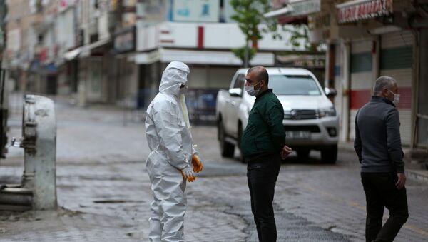 Ara sokaklarda yasak manzaraları - Sputnik Türkiye