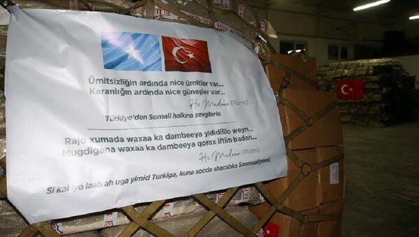 Türkiye'den Somali'ye koronavirüsle mücadelede tıbbi yardım - Sputnik Türkiye