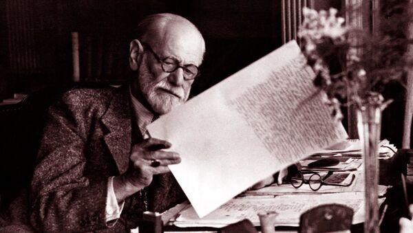 Nörolog ve psikanaliz kuramının kurucusu kabul edilenSigmund Freud - Sputnik Türkiye