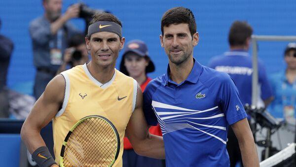 Rafael Nadal-Novak Djokovic  - Sputnik Türkiye