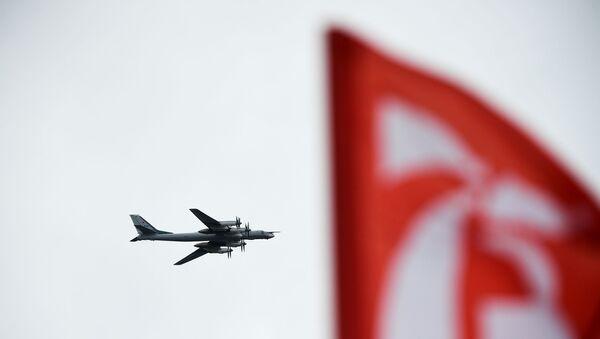 Tu-95MS stratejik bombardıman uçağı - Sputnik Türkiye