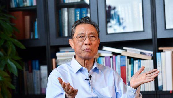 Prof. Zhong Nanshan - Sputnik Türkiye