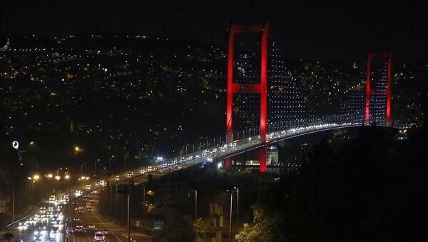Sokağa çıkma kısıtlaması sonrası İstanbul trafiği - Sputnik Türkiye