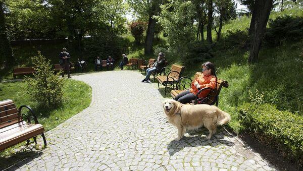Türkiye, park, sosyal mesafe - Sputnik Türkiye