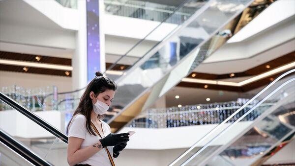 AVM -  alışveriş merkezleri - maske - koronavirüs - sosyal mesafe - - Sputnik Türkiye