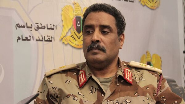 Libya Ulusal Ordusu sözcüsü Ahmed el Mismari - Sputnik Türkiye