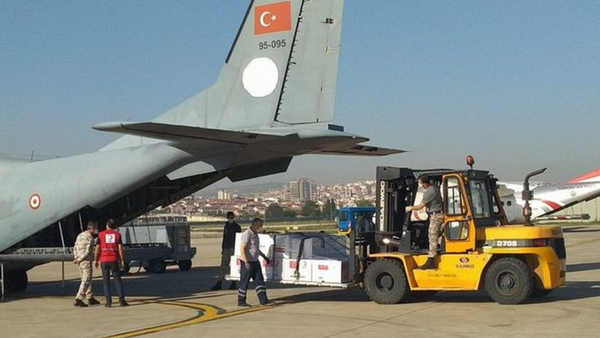 Türkiye'den iki ülkeye daha tıbbi yardım - Sputnik Türkiye