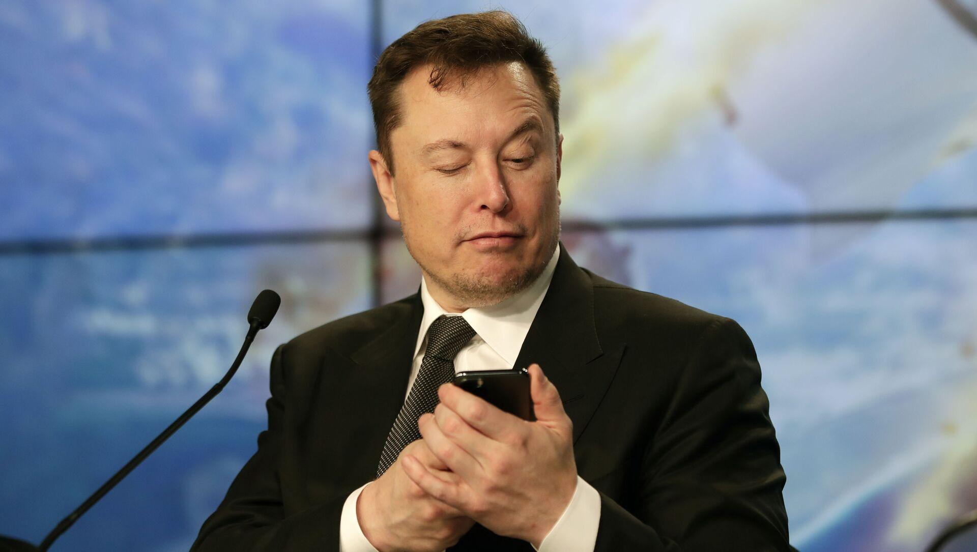 Elon Musk - Sputnik Türkiye, 1920, 02.02.2021