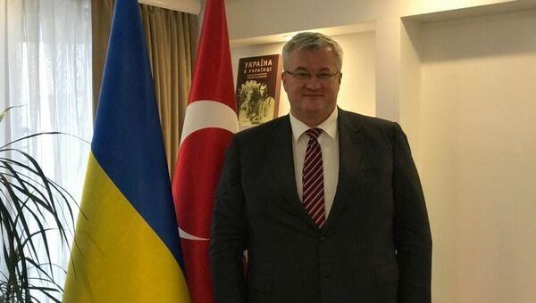 Ukrayna'nın Ankara Büyükelçisi Andrey Sibiha - Sputnik Türkiye