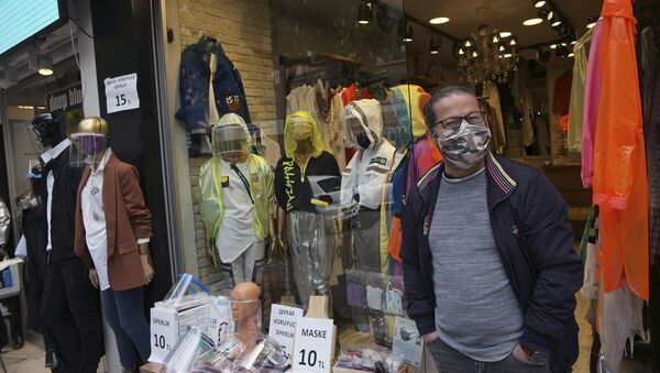 Türkiye, koronavirüs, mağaza, maske - Sputnik Türkiye