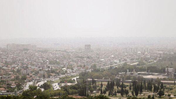 Antalya'da nem bulutu - Sputnik Türkiye