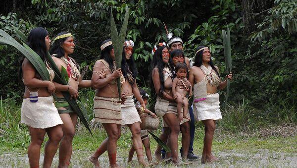 Ekvador'daki Waorani kabilesinde ilk koronavirüs vakası tespit edildi. - Sputnik Türkiye