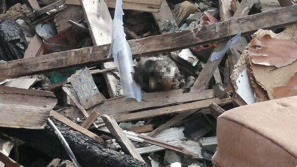 Beyoğlu'nda 3 ay önce yanan evde kafatası bulundu - Sputnik Türkiye