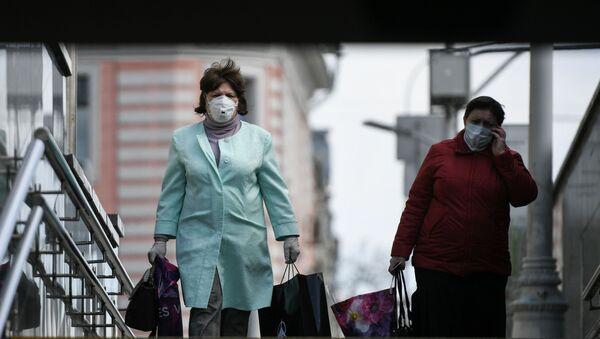 Moskova - Maske - Koronavirüs - Rusya - Sputnik Türkiye