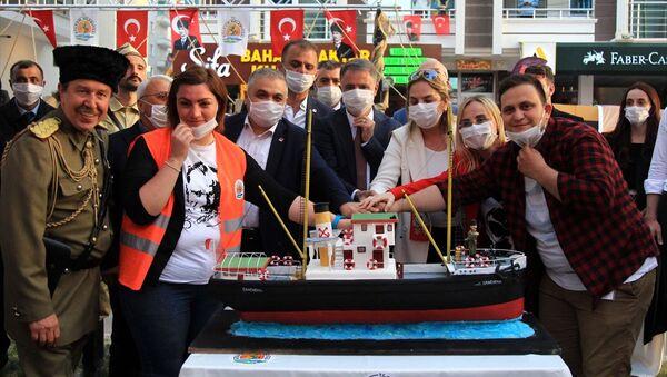 Samsun'da, 19 Mayıs Atatürk'ü Anma Gençlik ve Spor Bayramı - Sputnik Türkiye