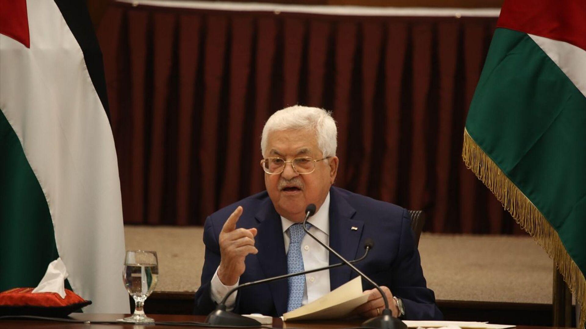 Filistin Devlet Başkanı Mahmud Abbas - Sputnik Türkiye, 1920, 24.09.2021