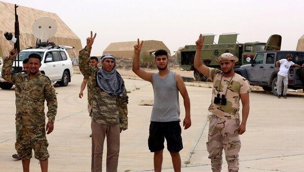 Libya, UMH güçleri - Sputnik Türkiye