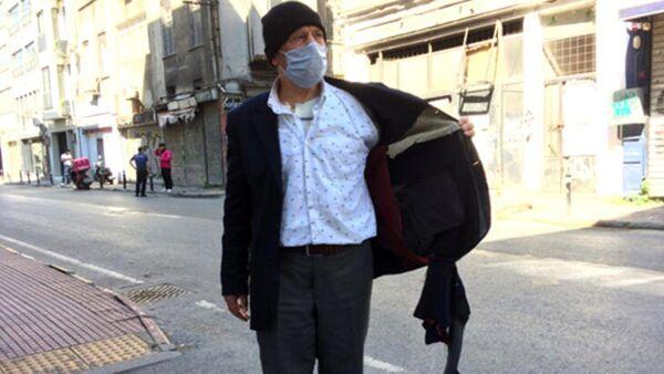 Beyoğlu'nda sabah kedilere mama vermek için dışarıya çıkan yaşlı adamın cebindeki zekat ve fitre paraları Fas uyruklu 3 kişi tarafından gasp edildi. - Sputnik Türkiye