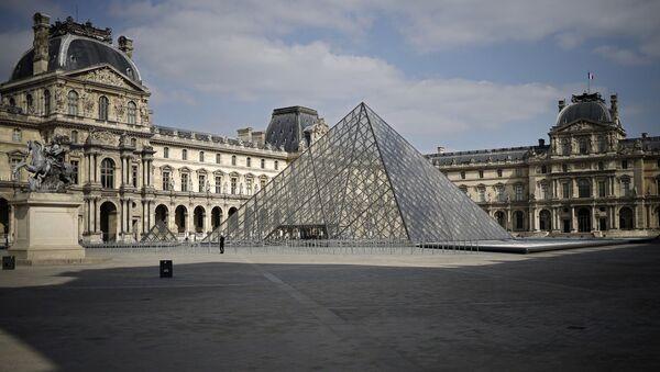 Louvre Müzesi, Paris, Fransa - Sputnik Türkiye