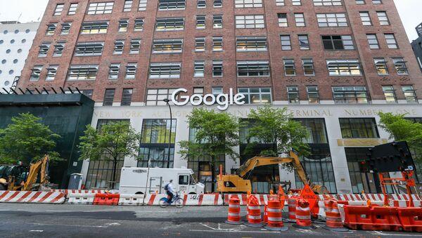 Google-ABD-New York - Sputnik Türkiye