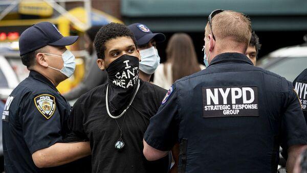 New York, protesto - Sputnik Türkiye
