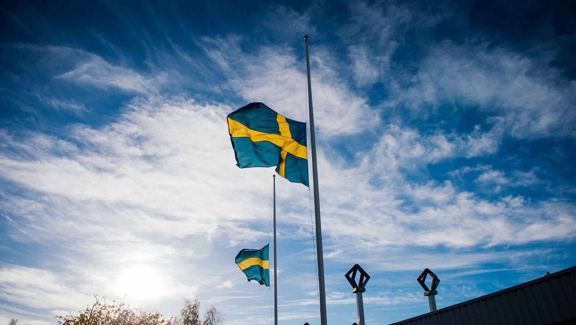İsveç bayrağı - Sputnik Türkiye, 1920, 09.08.2021
