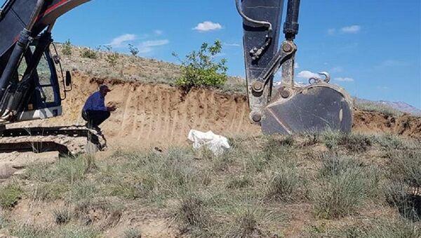 Erzincan'da inşaat kazısında insan kemikleri ve kafatası bulundu - Sputnik Türkiye