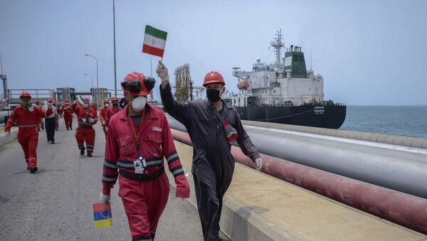 İran Venezüella petrol sevkiyatı - Sputnik Türkiye