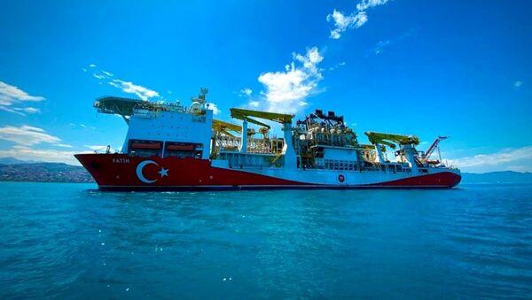 Fatih sondaj gemisi - Sputnik Türkiye