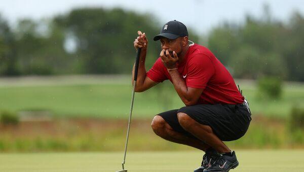 ABD'li golfçü Tiger Woods - Sputnik Türkiye