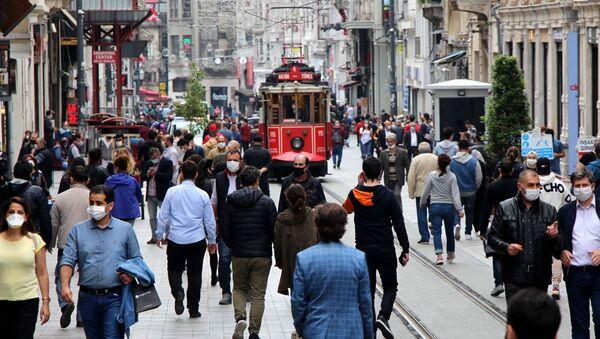 İstiklal Caddesi - Sputnik Türkiye